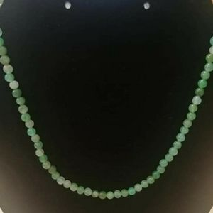 Jewelry - Natural Chalcedony (Chrysoprase) Necklace